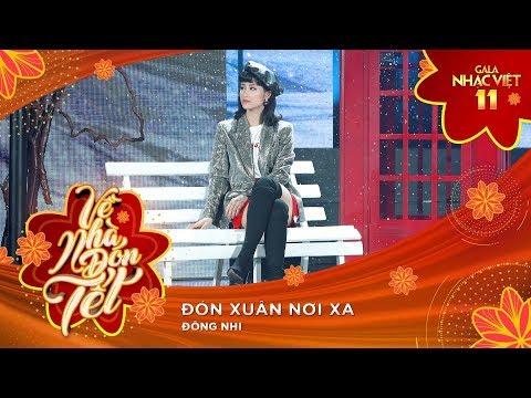 Đón Xuân Nơi Xa - Đông Nhi | Gala Nhạc Việt 11 (Official)