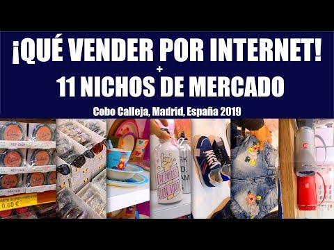 🛒 Qué Vender Por Internet ➕ 11 Nichos De Mercado En Cobo Calleja, Madrid ✅