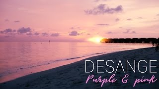 DESANGE Purple & Pink