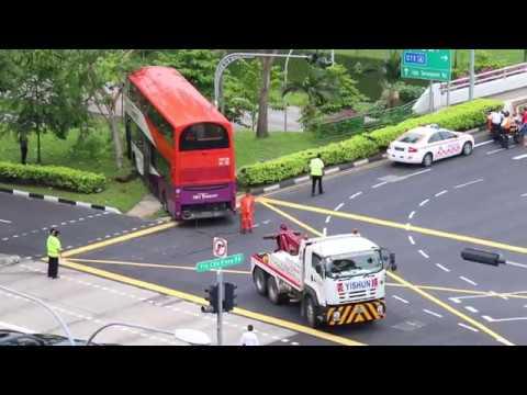 SBS Transit Bus Accident Along Yio Chu Kang Road