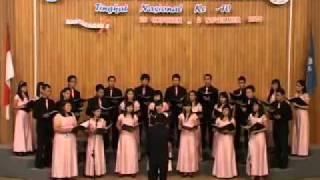 O Be Joyful John Rutter   Performance by Immanuel Choir Methodist University of Indonesia