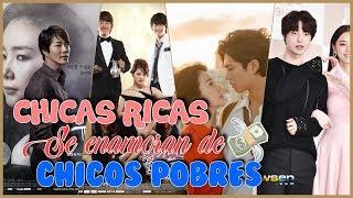 5 DORAMAS DONDE LA CHICA RICA SE ENAMORA DEL CHICO POBRE   DramasC