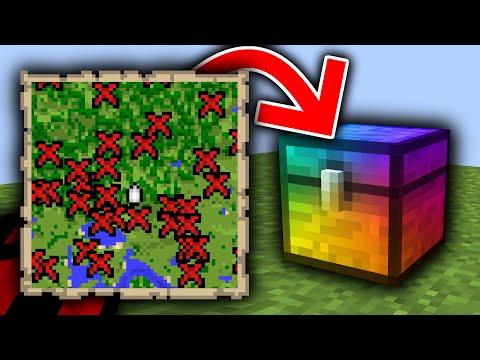 Minecraft, But Treasure Is Super...