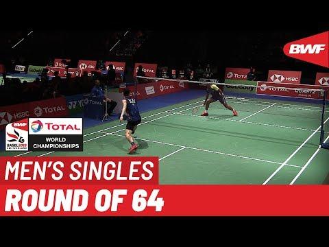 R64 | MS | LEE Zi Jia (MAS) [14] vs. Ygor COELHO (BRA) | BWF 2019