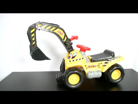 Big Action Dig N Ride Ride-On From Fisher-Price