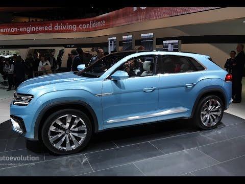 Volkswagen Cross Coupe GTE Concept - 2015 Detroit Auto Show