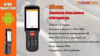 Обзор терминала сбора данных АТОЛ Smart.Lite