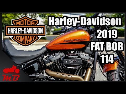 2019 Harley-Davidson Fat Bob 114 Test Ride And Review
