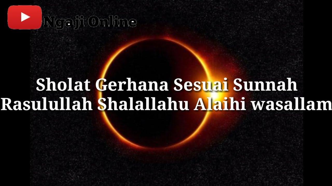 Sholat Gerhana Matahari - YouTube