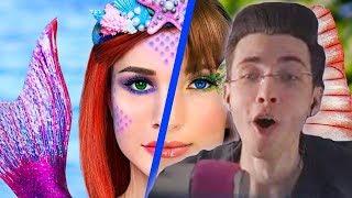 Хесус смотрит Косметика Русалки против косметики Бабочки! Челлендж – 8 идей