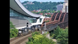2018 Railfanning Trip To Pittsburgh, PA Documentary