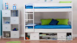 12 Extraordinary Bunk Bed Designs For Small Child's Room