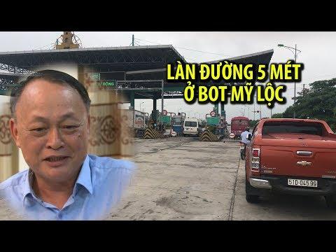Sở GTVT Nam Định nói gì về làn đường 5 mét ở BOT Mỹ Lộc