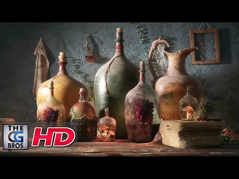 "CGI 3D Making Of: :""Bottles Of Life"" - by Farid Ghanbari"