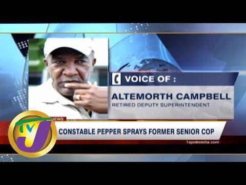 TVJ News Today: Ex-cop Speaks About Pepper Spray Incident - June 7 2019