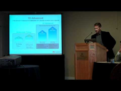 Patrick Kaiser (Huawei): CDMA2000 Network Evolution (Part 1 of 2)