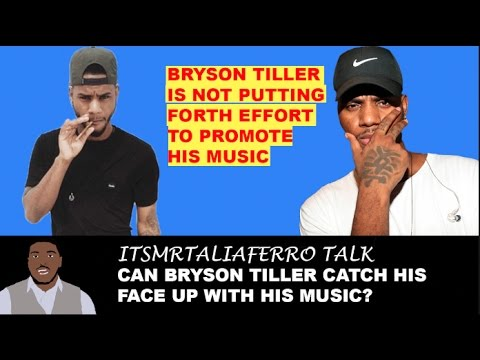 Bryson Tiller Refuses To Promote Music, Do Video Interviews, Show Face.