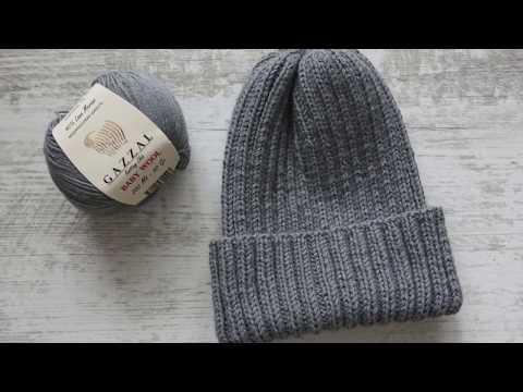 Как закрыть макушку шапки резинкой