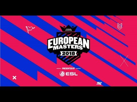 LoL - Movistar Riders vs. Illuminar Gaming - Partido 1 - Knockout Stage - European Masters 2018