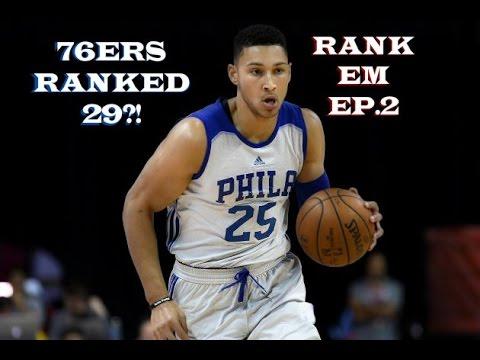 2016-17 NBA PREVIEW PHILADELPHIA 76ERS! (RANK 29th) Rank Em Ep. 2