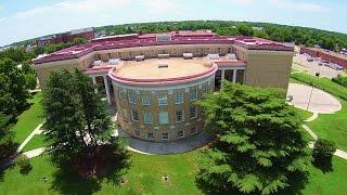 Aerial View of Petersburg High School - Petersburg, Va