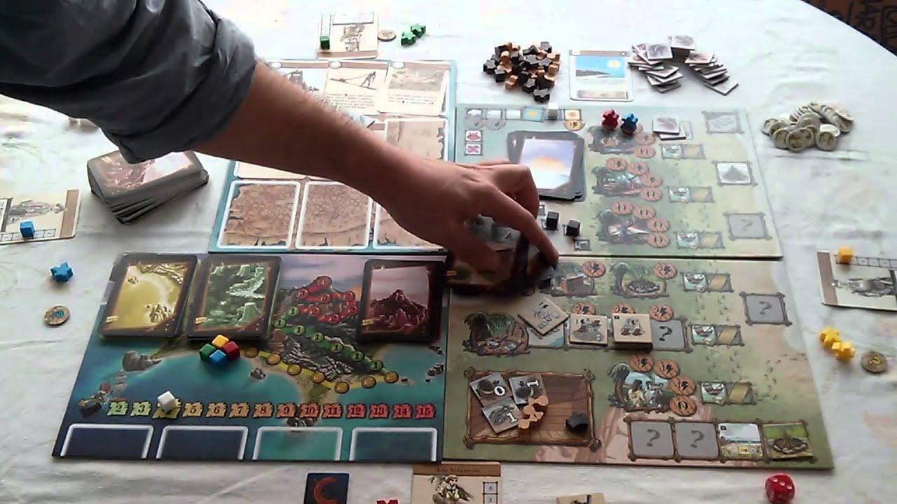 V deo rese a del juego de mesa n ufragos youtube - Fallout juego de mesa ...