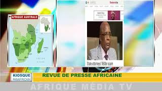 revue de presse africaine : KIOSQUE PANAFRICAIN DU 13 08 2018
