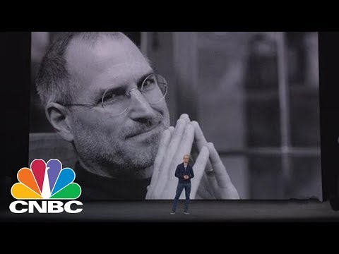 Watch Tim Cook Honor Steve Jobs With Emotional Address   CNBC