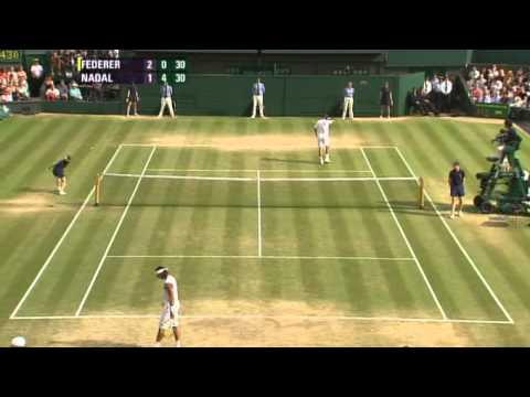 Roger Federer vs Rafael Nadal -- Wimbledon 2007 Final Highlights