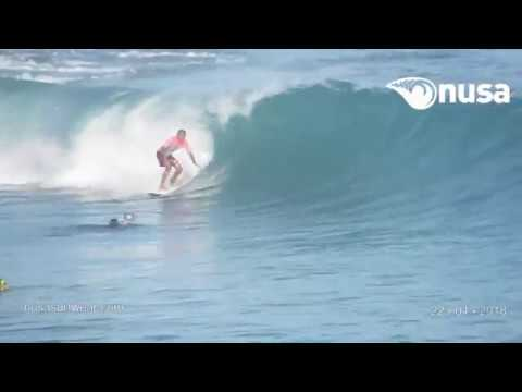 22 - 04 - 2018 /✰✰✰ / NUSA's Daily Surf Video Report from the Bukit, Bali.