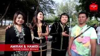 Hotlink TV: #LiveLifeLoud Sayang Kinabalu dengan Nikki Palikat and Jimmy Palikat