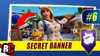 Fortnite | WEEK 6 Secret Banner Location (Season 7 Week 6 Loading Screen / Snowfall Skin)