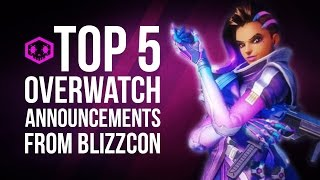 Top 5 Overwatch Announcements from Blizzcon 2016