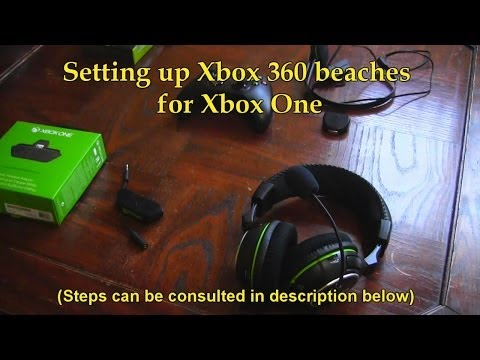 How To Setup Xbox 360 Headset On Xbox One - Game Audio + CHAT!! (Tutorial)