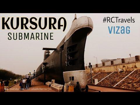 Kursura Submarine Museum|#RCTravels Vizag|India| PART 1