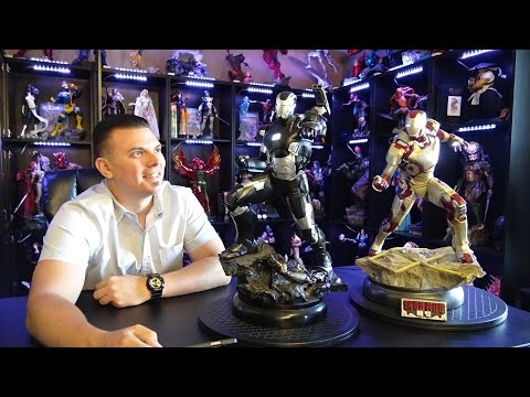 Sideshow WAR MACHINE maquette statue REVIEW
