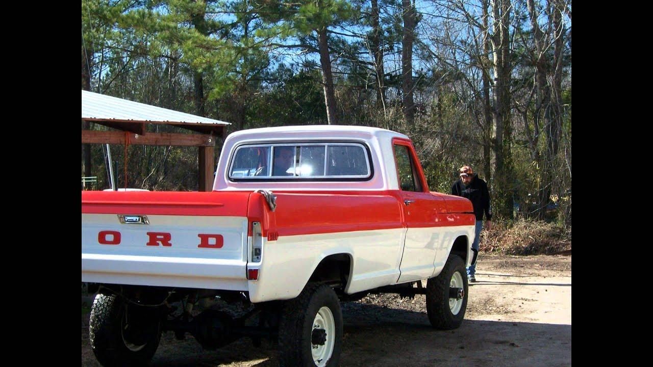 1972 Ford F250 High Boy 4x4 Youtube