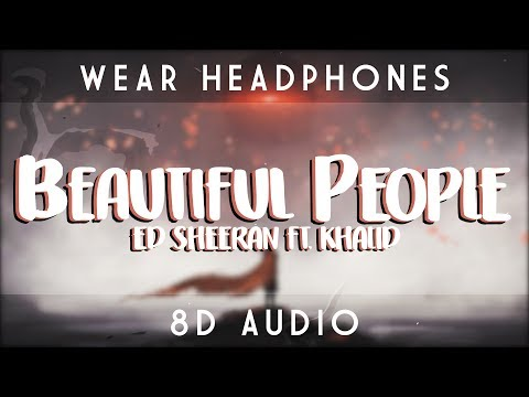 Ed Sheeran - Beautiful People ft. Khalid | 8D Audio 🎧 || Dawn of Music ||