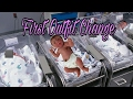 First Outfit Change For Full Body Silicone Baby Doll - Just Born Silicone Baby Girl