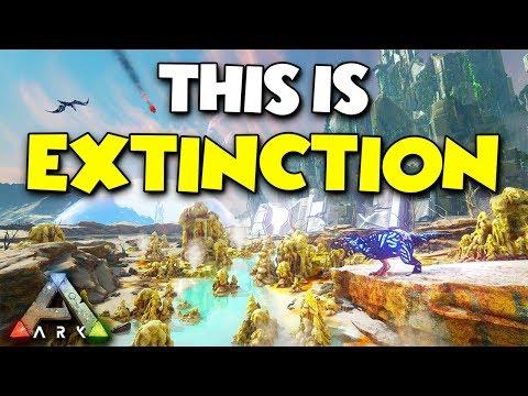 THIS IS EXTINCTION ( New ARK DLC ) - ARK...