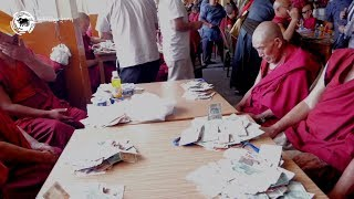 An Act of Merit for Saga Dawa: Offering for Tibetan hermits in and around Dharamsala