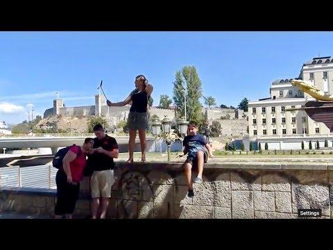 Selfie Time! 😂 Travel Republic of Macedonia 🇲🇰 | LGBT Loving Life Fam Fun