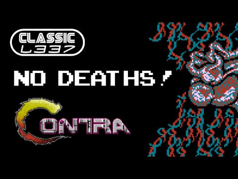 Let's Play Contra Without Dying