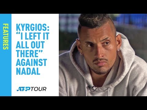 Kyrgios: 'I Left It All Out There' Against Nadal At Acapulco 2019