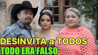 Papá de RUBÍ DESINVITA a todos de la FIESTA DE XV AÑOS TODO era MENTIRA