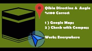 How to find Qibla Direction for my current Location using Android Devices ?