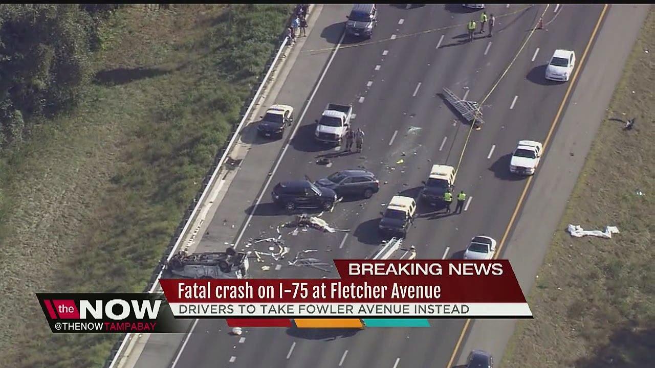Fatal crash closes northbound lanes of I-75 near Fletcher