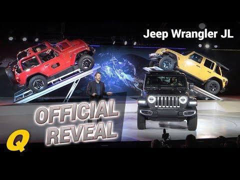 Jeep Wrangler JL Reveal Press Conference LA Auto Show