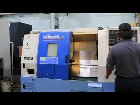 KIA  CNC TURNING CENTER W/LIVE TOOLING & SUBSPINDLE
