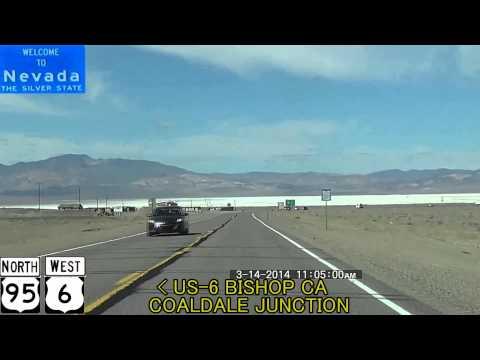 Las Vegas NV to Reno NV 2014 HD